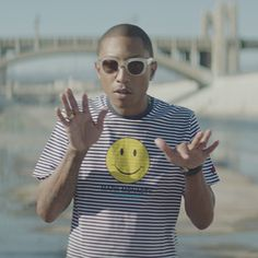 Love this interactive music video for Pharrell.