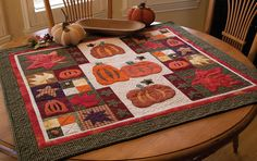 Pick a Pumpkin by Marianne Zenero Harwood, from the book Slash Your Stash: Scrap Quilts from McCall's Quilting