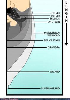 beard length