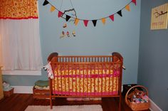 """Think """"Eco-friendly"""" when it comes to the painting the nursery. #charliebanana #pinparty"""