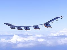 The Helios is a solar airplane by NASA, used for scientific research.