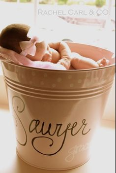 Ok it's official I need to have my girl now so no more people can take my name before me!! bucket photo, buckets, babi stuff