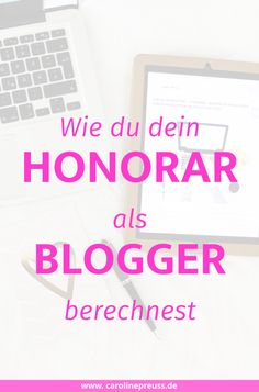Blogger Honorare & P