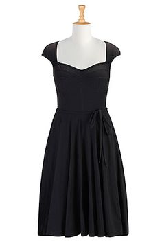 I <3 this Corset style jersey knit dress from eShakti