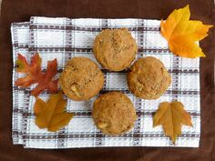 Vanilla & Spice: Chai-Spiced Pear and Walnut Muffins