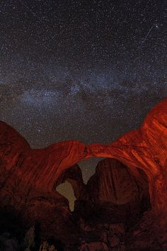 Cosmic Arches, Arches National Park, Utah