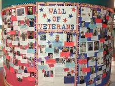 A school's Veterans Day observance