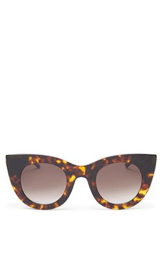 Divinity Sunglasses In Tortoise by Thierry Lasry