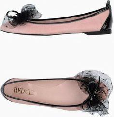 Red Valentino Pink Ballet Flats.