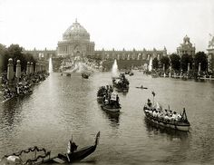 Floral Parade of Nations, St. Louis World's Fair by Missouri History Museum, via Flickr