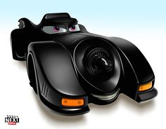 The Batmobile: 7 Famous Movie Cars Redone As Pixar Characters http://www.nextmovie.com/blog/famous-movie-cars-as-pixar-characters/#