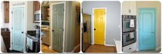 Painted Pantry Doors