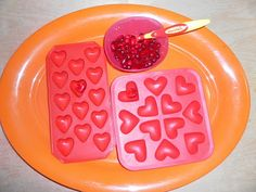 Lots of Valentine Tot Tray Ideas!