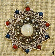 Moonstone Tibetan Mandala Pendant