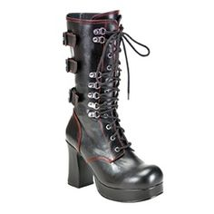 High Heel Gothic Boots
