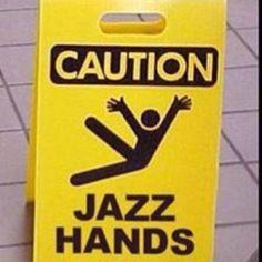 Jazz hands! via @Alpha Mom (TM)