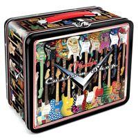 lunch boxes, retro lunch, lunches, shop retro, tin lunch, custom shop, fender guitars, lunchbox, fender custom