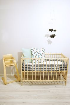 crib bumer slip cover