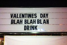 ha! valentine's day. finally, not my thoughts for once!