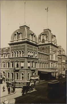 The original Grand Central Depot Railway Station in New York, 1871...demolished to make way for the current Grand Central Station...