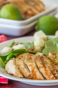 Cumin Lime Chicken in a quick 15 minutes. Perfect for your Memorial Day par-tay!