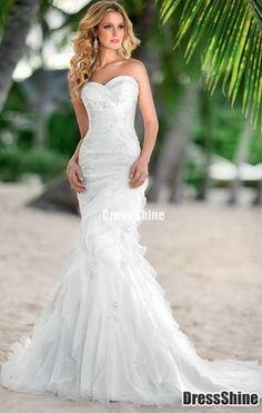 mermaid wedding dress mermaid wedding dress  I absolutely love this dress!!!! --Amanda L