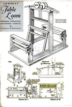 DIY 4 shaft table loom | Popular Science - Google Books