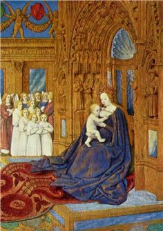 Virgin and Child - Jean Fouquet, 1445