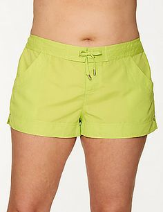 Vacationing on St. Patrick's Day? Get your green on beachside (or poolside!) in our board short - the perfect swim bottom.