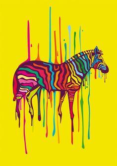 love this zebra