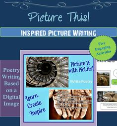 Ready to inspire your students? $ PicLits.com is an interactive, creative writing site that matches beautiful images with carefully selected keywords in order to inspire you. The object is to put the right words in the right place and the right order to capture the essence, story, and meaning of the picture.    Using the teaching resources and handouts in Picture It! (along with the free Web 2.0 tool, PicLits) will foster both critical and creative thinking skills within your students!