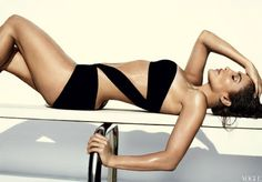 #JLo Models Summers Scorching Swimsuits in Vogue