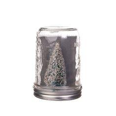 Love these snow mason jars!