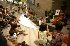 Skirball Family Amphitheater Performances -- Saturdays and Sundays in the summertime