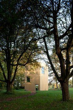 Maisons 5.5mx5.5m by LVHP, Fribourg, Switzerland -