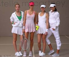 Stella Mcartney tennis fashion  #tennis  #ausopen  #stella #TennisCouture #TennisFashion