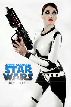 yes. latex stormtrooper