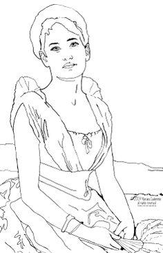 Juliette Gordan Low Free Coloring Pages Juliette Gordon Low Coloring Page