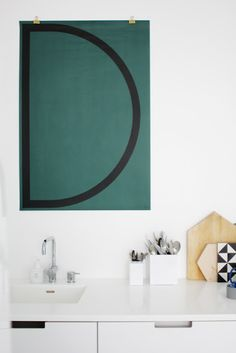 Cool idea for hanging posters!