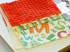 Very cute burp cloth tutorial