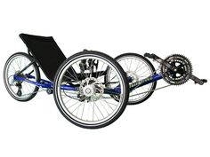 I love recumbent bikes. They look like a lot of fun and for me, they make bike riding much more accessible. This is definitely an investment I will make some day.