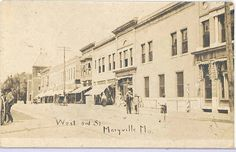 Downtown Maryville, old photo