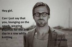 Thank you, Ryan Gosling.
