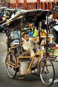 street life - rickshaw