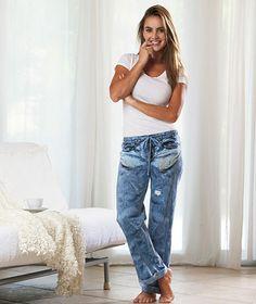 Boyfriend Jean Lounge Pants|The Lakeside Collection