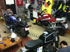 BMW cafe racers service