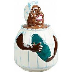 Black Americana Weller  Mammy  Ceramic Cookie Jar