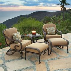 Islamadora 5-piece Deep Seating Chat Group $1299 could get 2 sets of these for fire pit