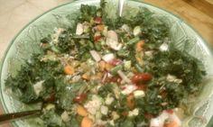 Kale, Brown Rice, Tomato Chopped