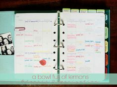 Create Your Own Planner